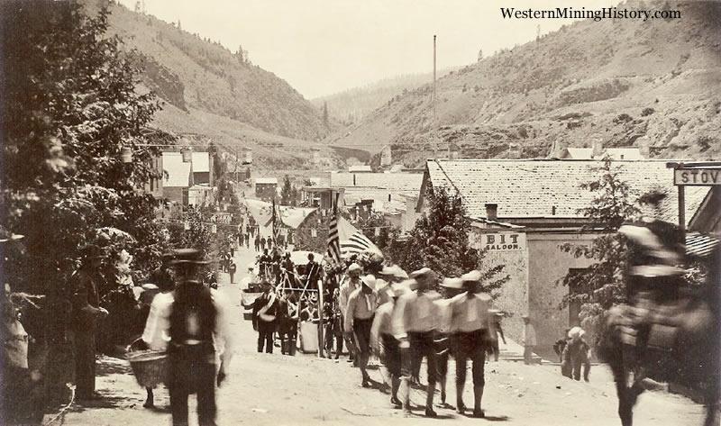 Canyon City July 4th Parade 1885