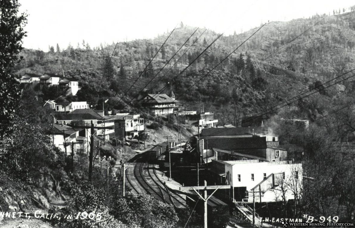 View of Kennett California 1905