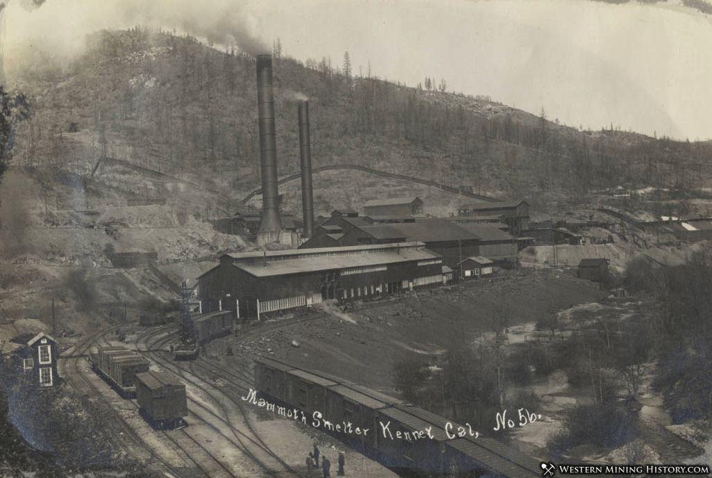 Mammoth Smelter at Kennett