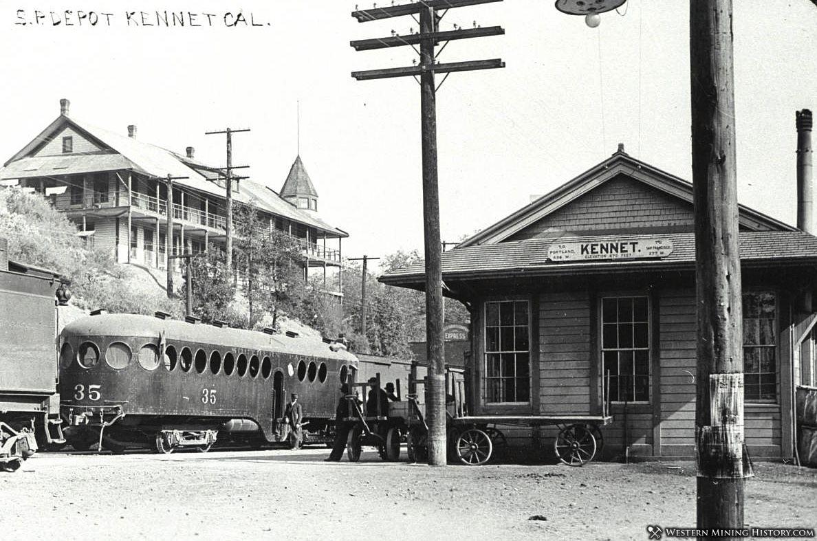 Train Depot at Kennett