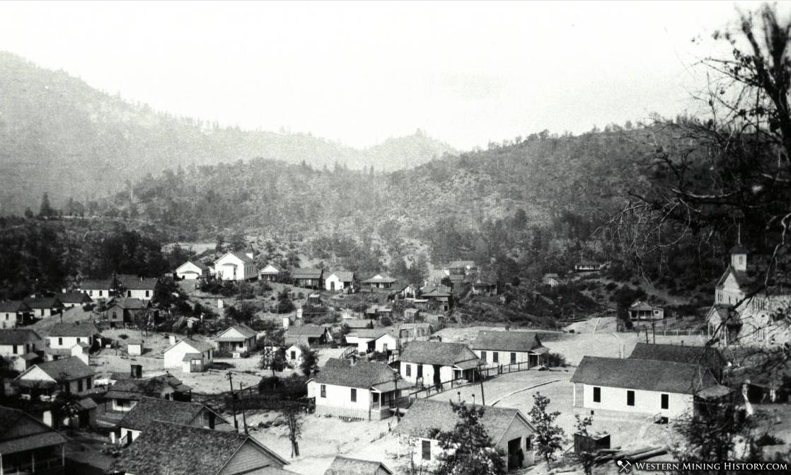 View of Homes in Kennett California ca 1910