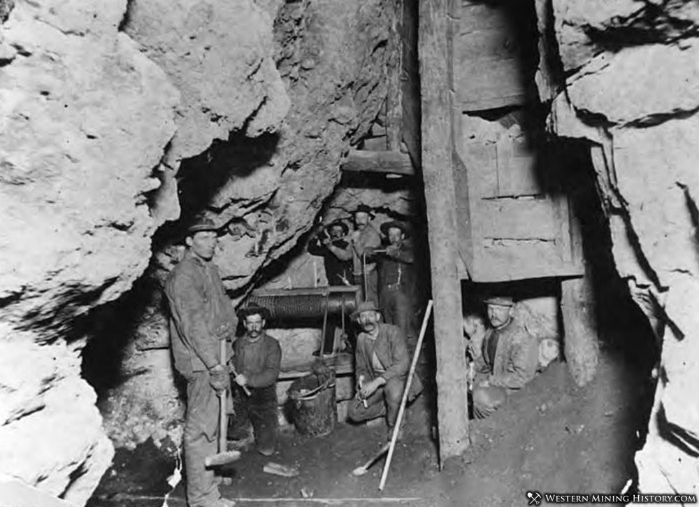 Men Working in a knightsville Mine