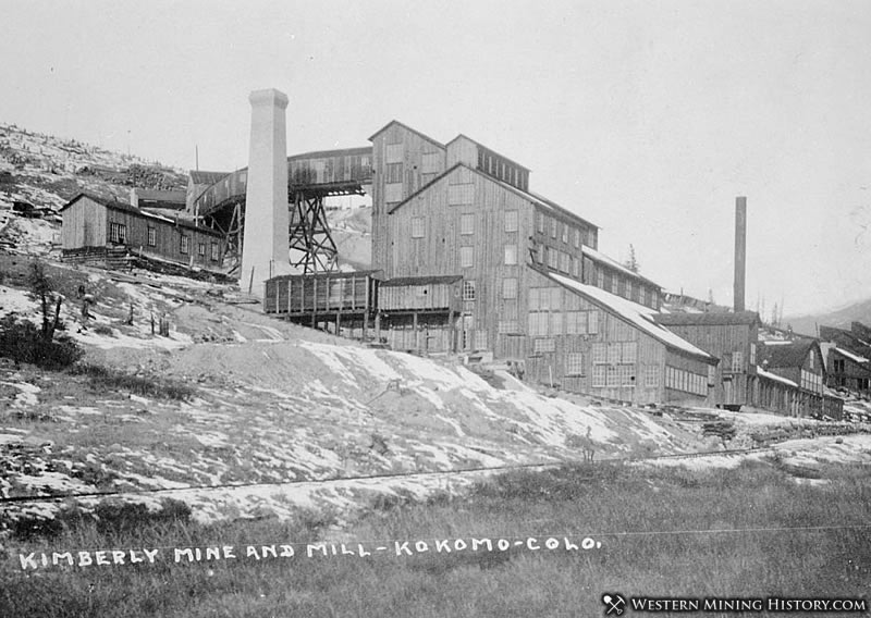 Kimberly Mine and Mill near Kokomo, Colorado