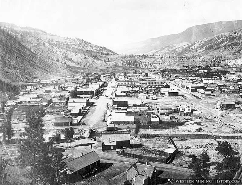 Lake City Colorado in the Early 1880s