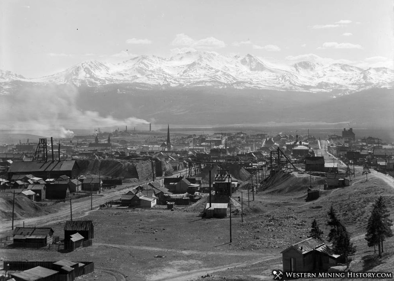 View of Leadville in 1918
