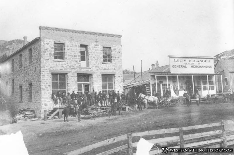 Maiden, Montana ca. 1885