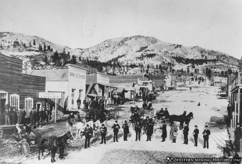 Maiden, Montana in 1887