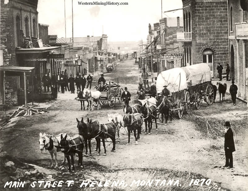 Featured Mining Town: Helena, Montana