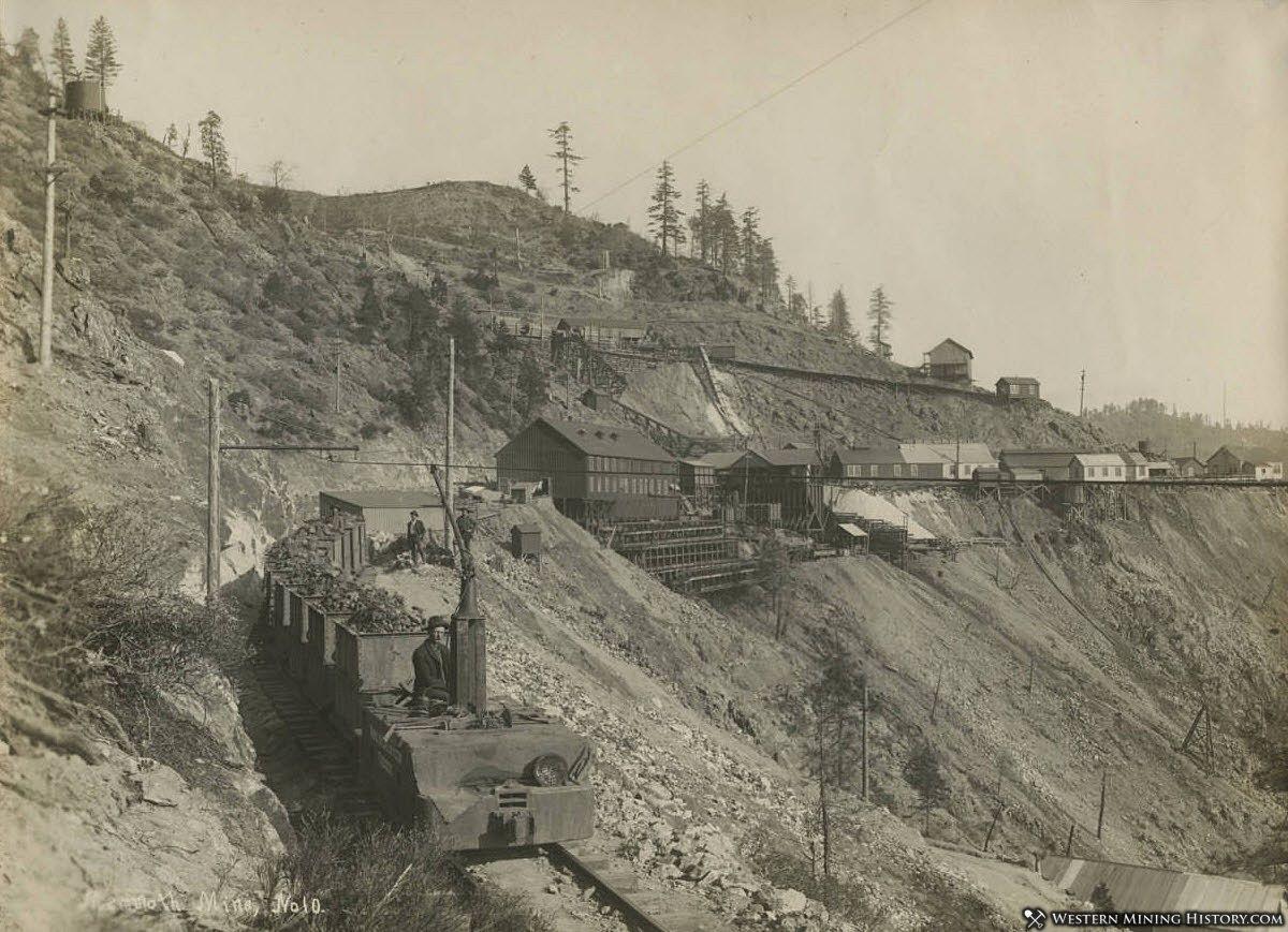 Ore Train at Mammoth Mine