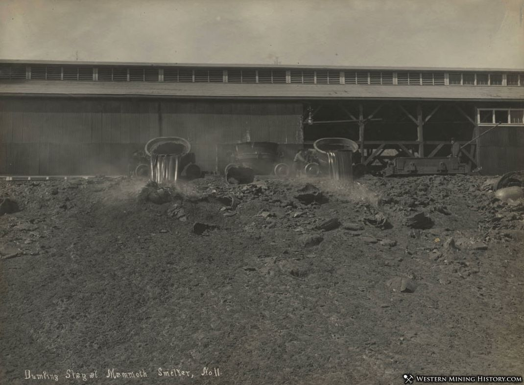 Dumping Slag at the Mammoth Smelter