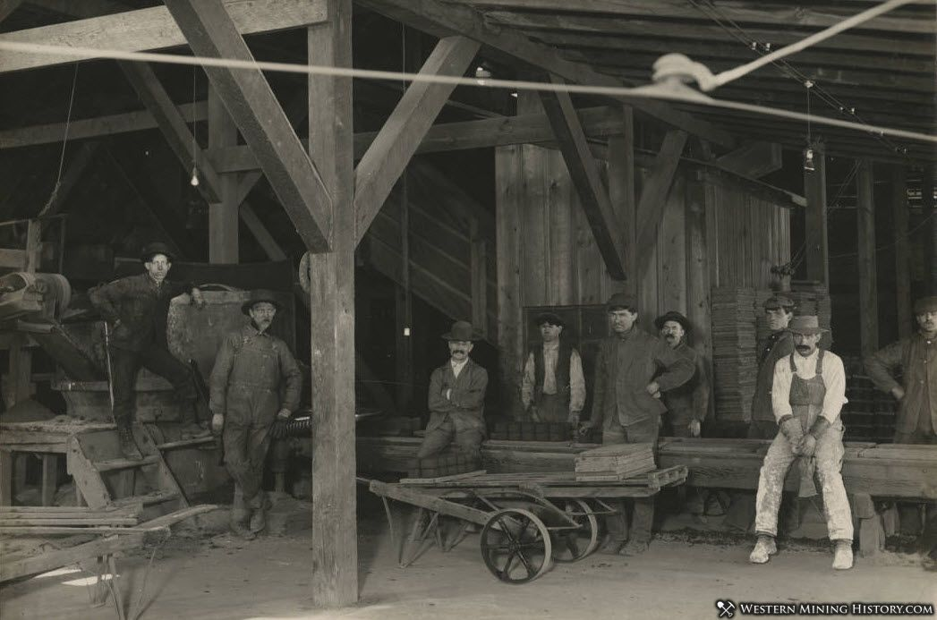 Brick Crew at Mammoth Smelter