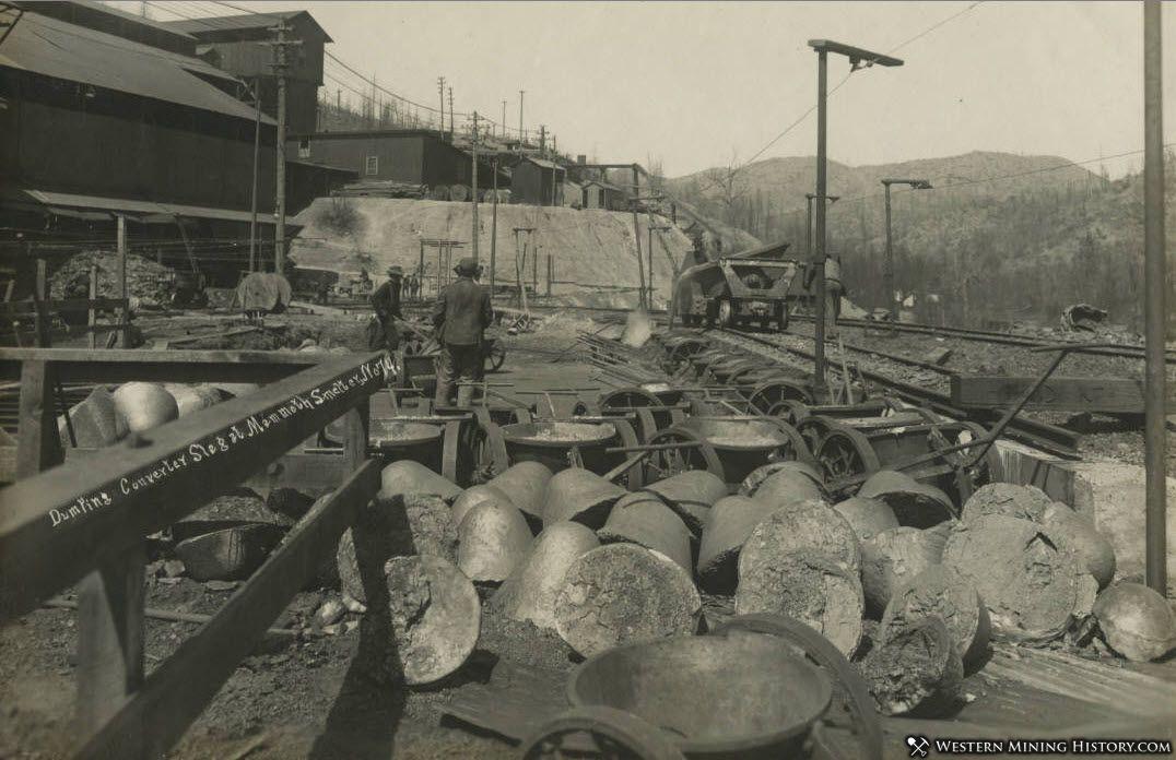 Dumping Slag - Mammoth Smelter