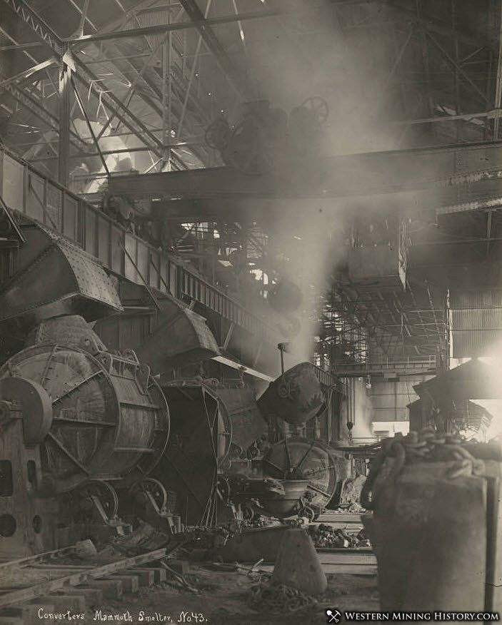 Converters at the Mammoth Smelter