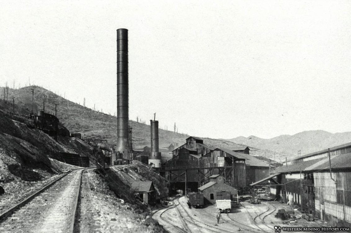 Tearing Down the Small Stack at the Mammoth Smelter