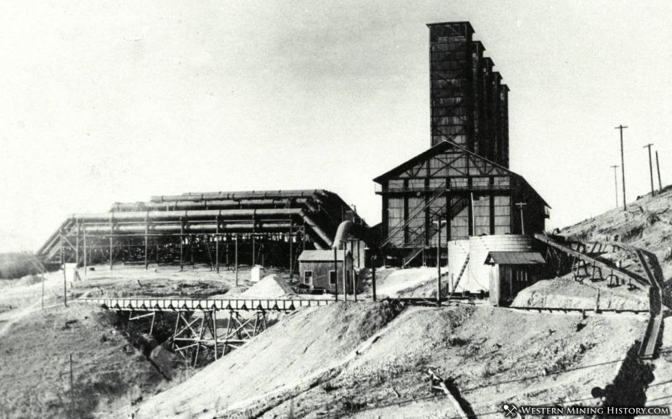 Mammoth Smelter Bag House