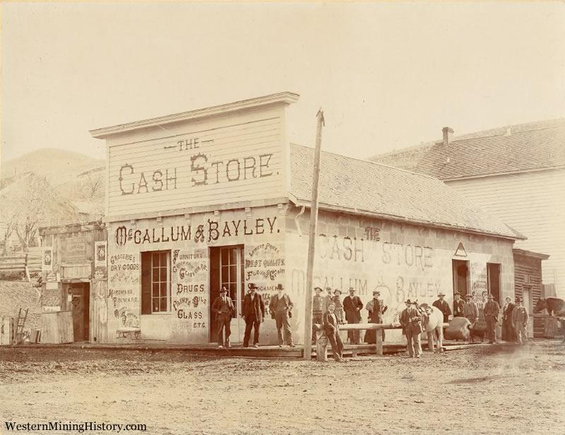 McCallum & Bayley Cash Store - Canyon City