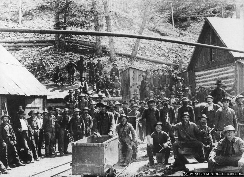 Miners at Blewett Washington