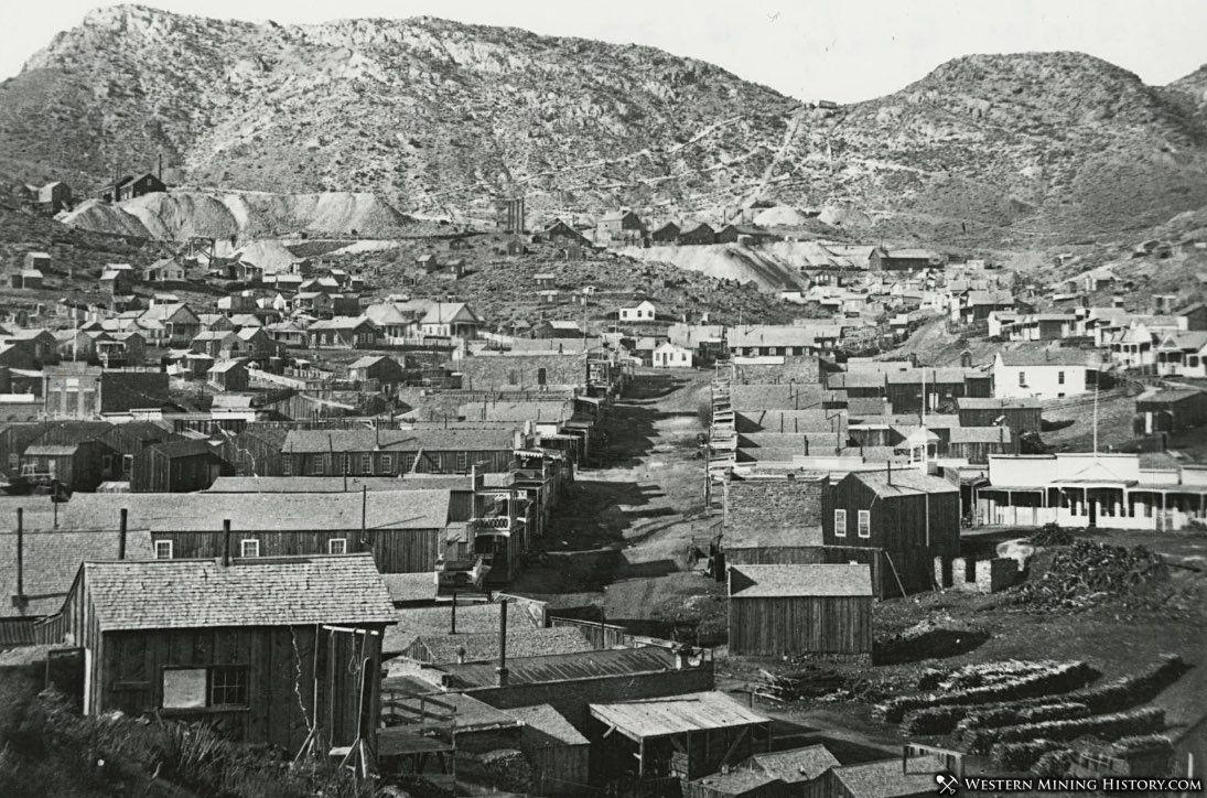 Pioche, Nevada ca. 1885