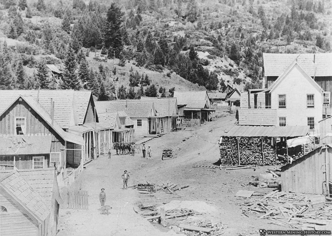 Quartzburg, Idaho ca 1899