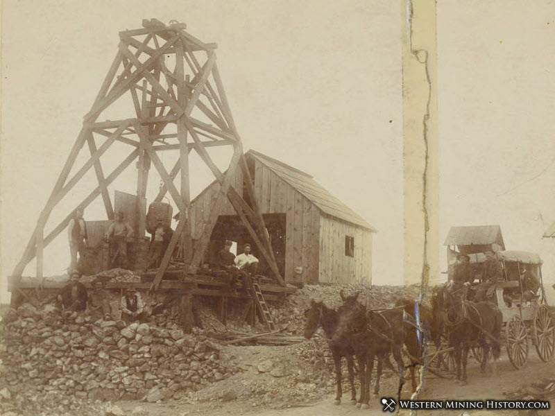 Saint Elmo Mine in Randsburg, ca.1897