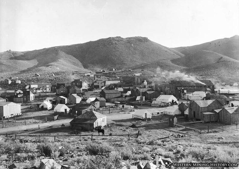 Randsburg California ca 1897