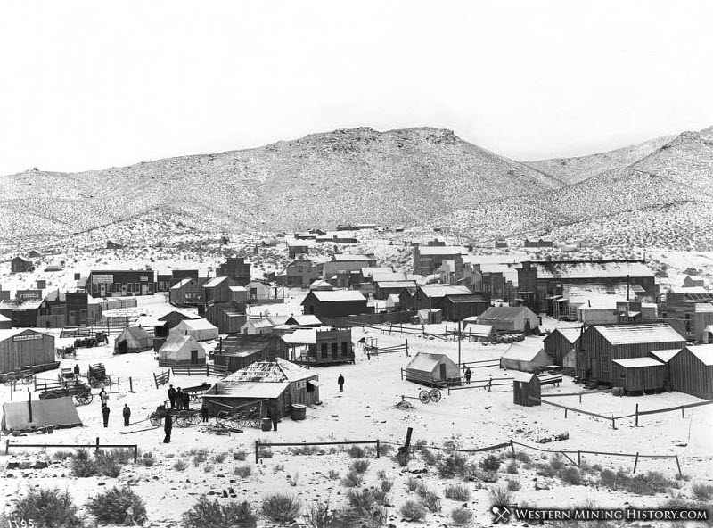 Randsburg California Winter Scene 1900