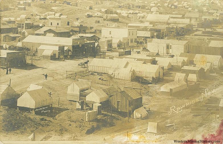 Rawhide Nevada ca. 1910