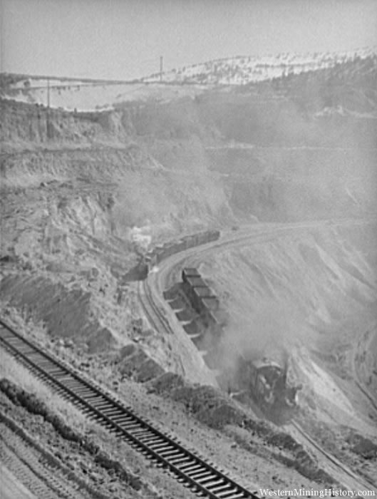 Open Pit Copper Mine - Ruth Nevada