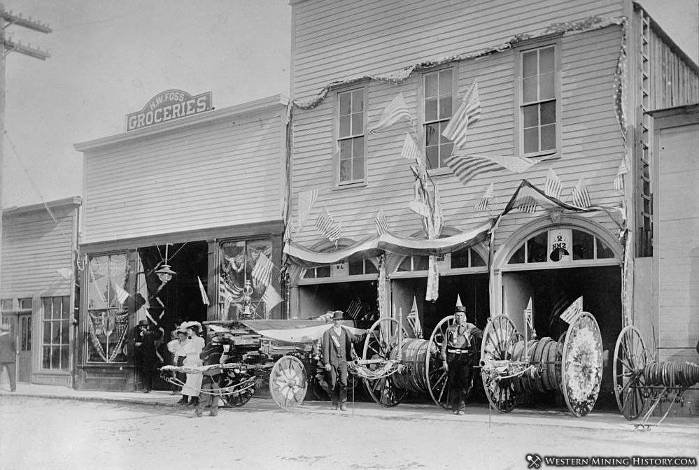 Silver Cliff, Colorado Fire Department ca. 1890