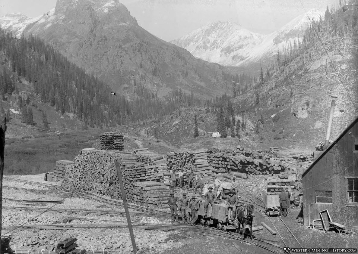 Revenue Mine near Sneffels Colorado 1896
