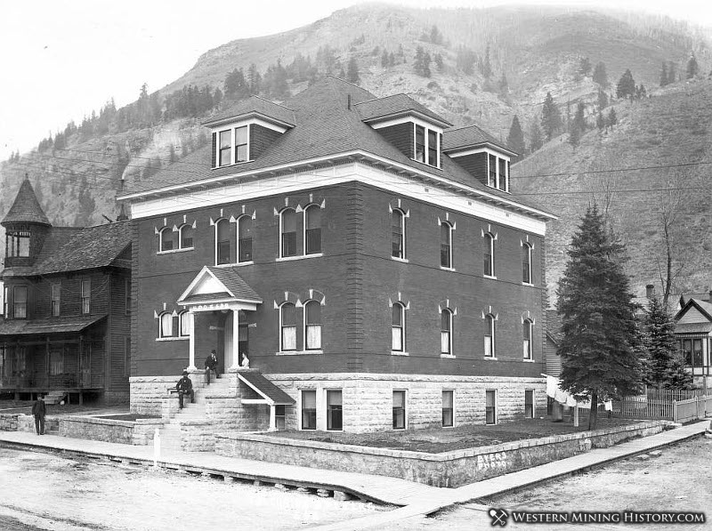 Elks Lodge Formerly Miners Union Hospital - Telluride Colorado