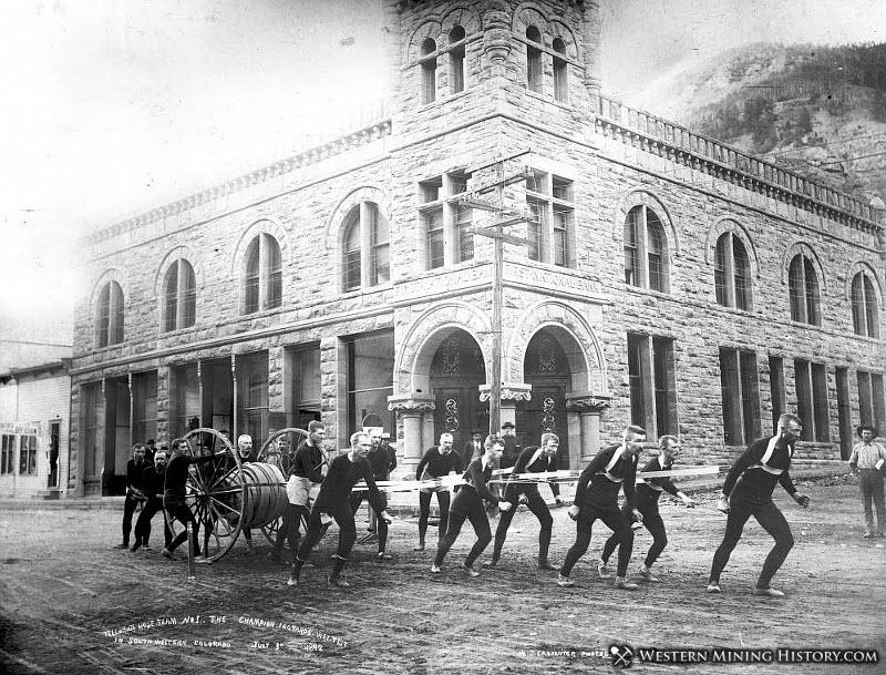 Telluride Hose Team 1892