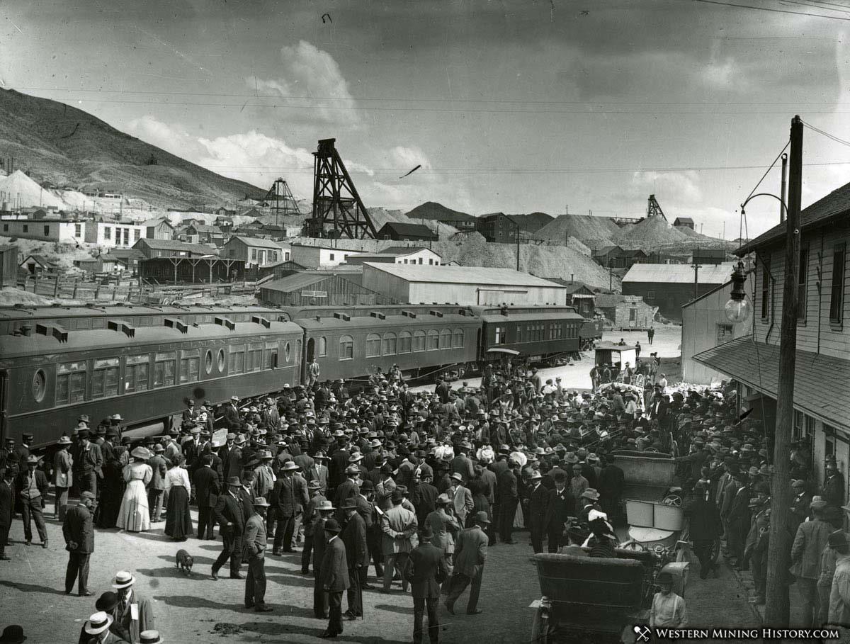 Tonopah rail depot 1907