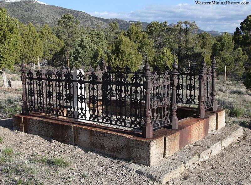 Ward Nevada cemetery