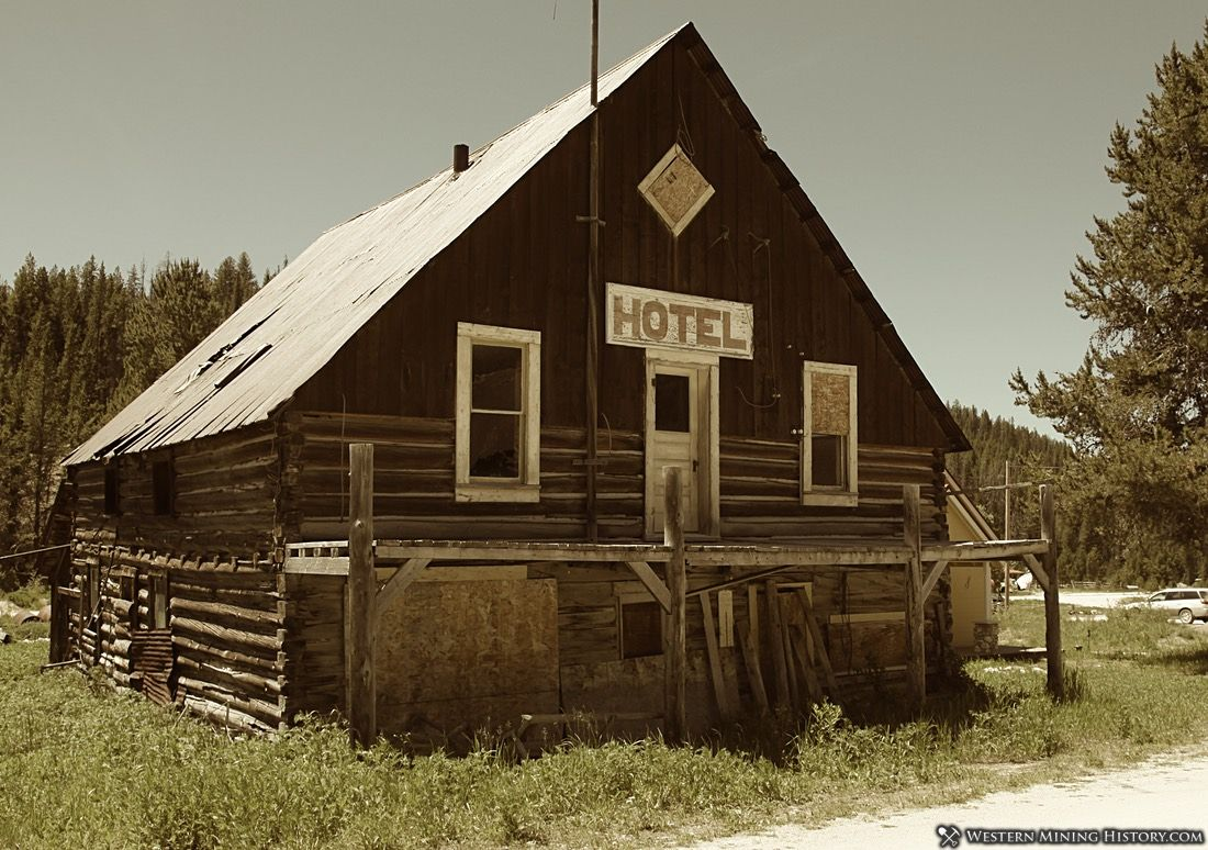 Historic Hotel at Warren, Idaho