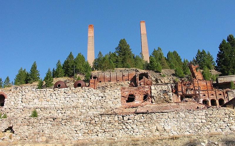 Bi-Metallic Mill - Philipsburg Montana