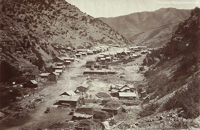 Ophir Nevada - The End of the World in 1870