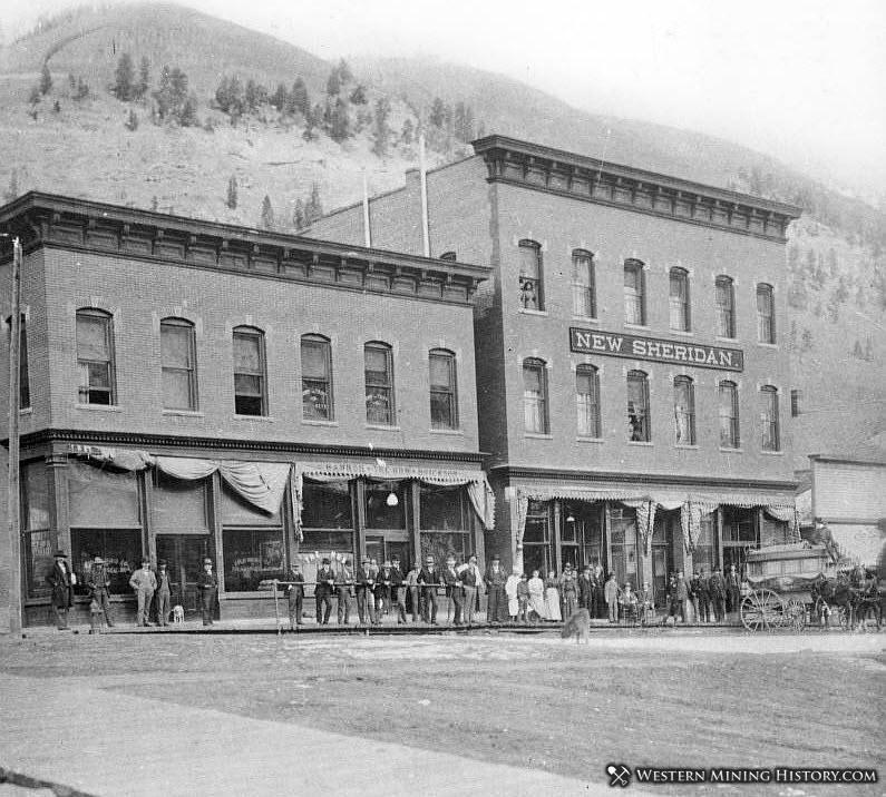 New Sheridan Hotel – Telluride, Colorado ca1900.