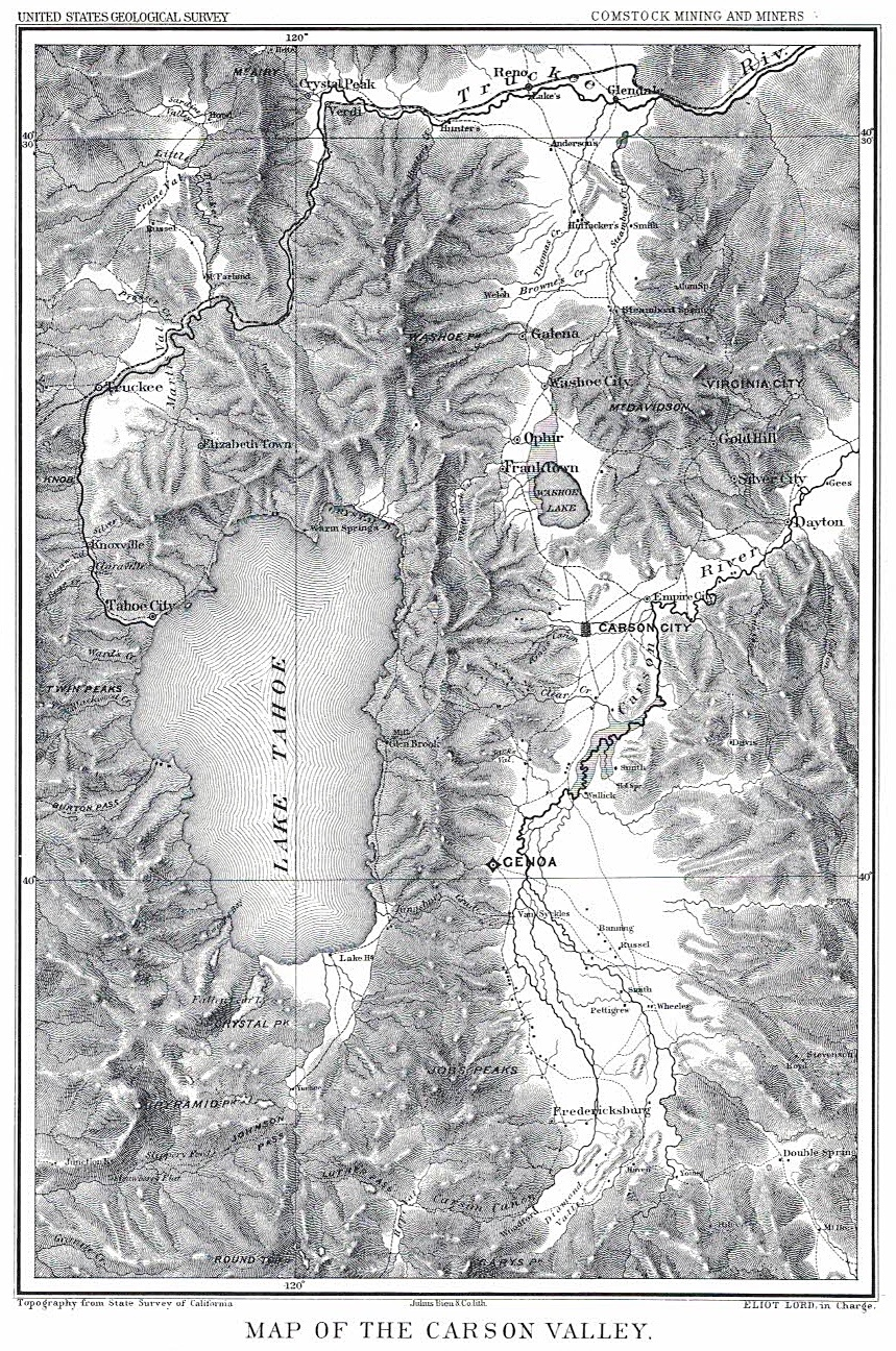 1800's Carson Valley