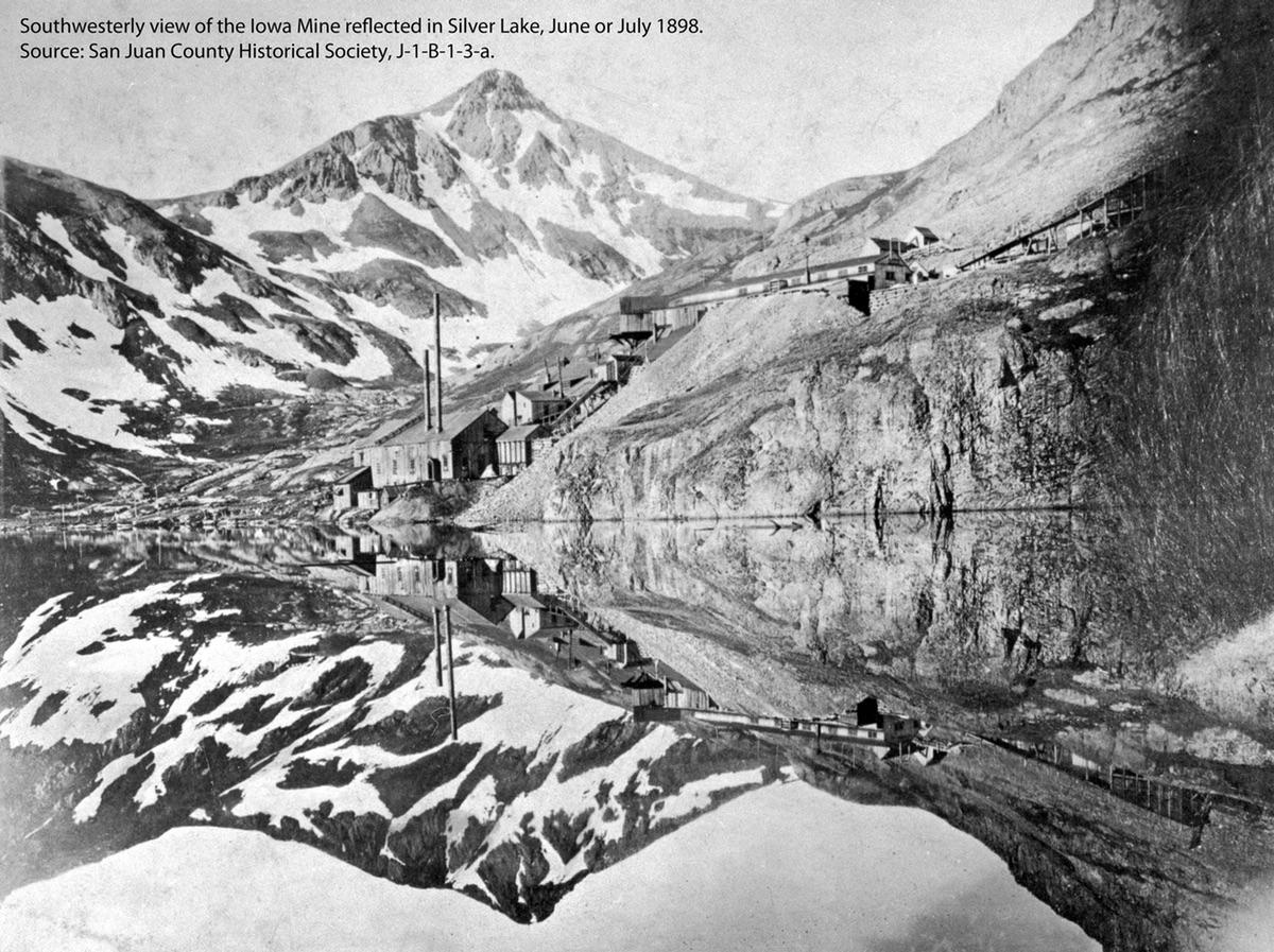 Iowa Mine on Silver Lake