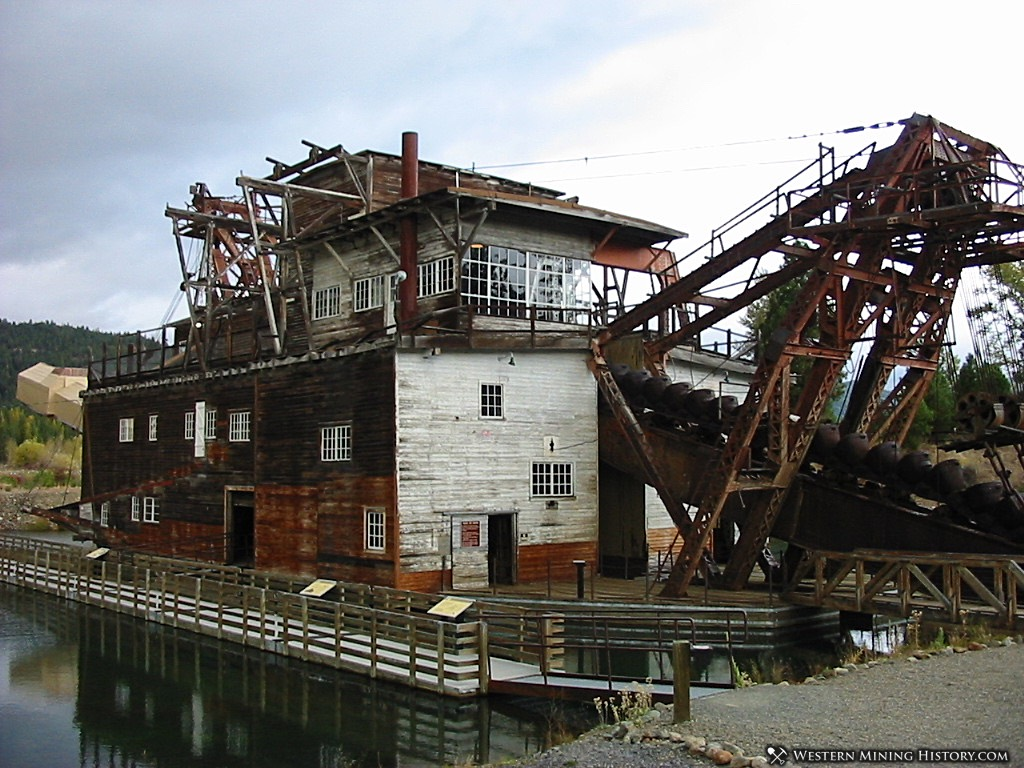 Sumpter Gold Dredge No. 3 in 2004