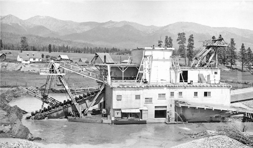 Sumpter Gold Dredge No. 3