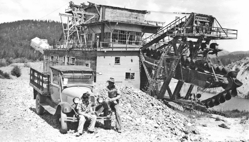 Sumpter Dredge No. 3 1960