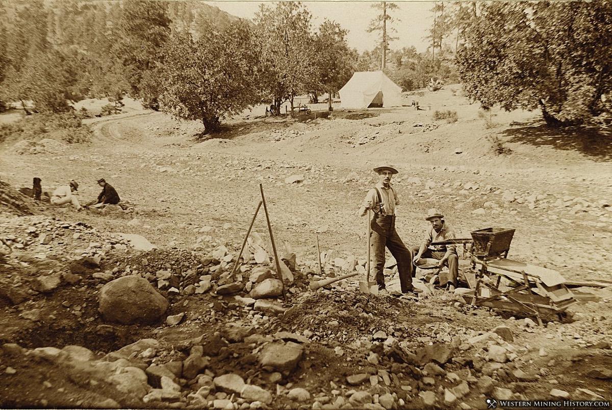 Arizona Placer Miners near Prescott
