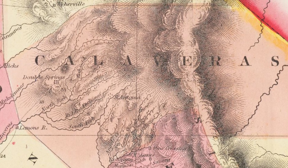 Calaveras County, California in 1851