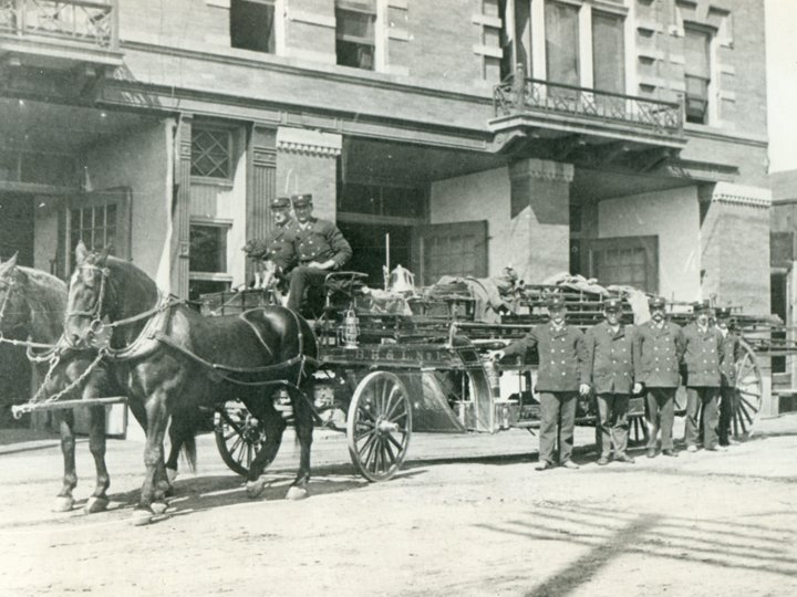 Butte Fire Department in the 1890s