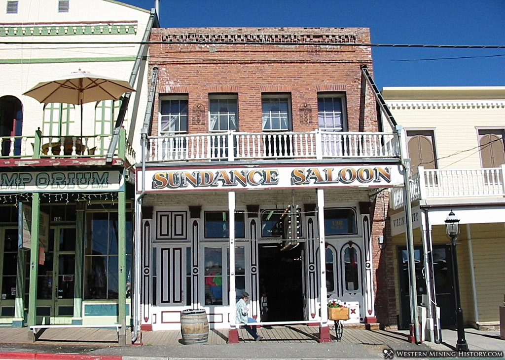 Historic Buildings in Virginia City, Nevada