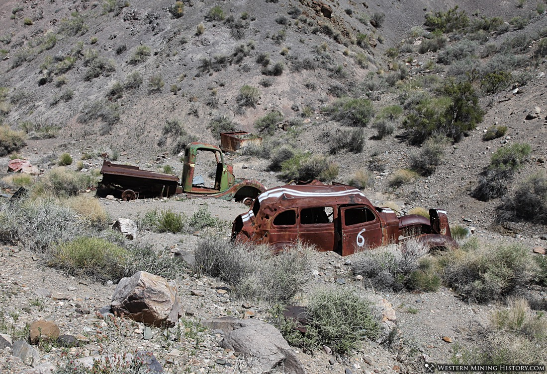 The Journigan's Mill site contains many wrecks of old vehicles