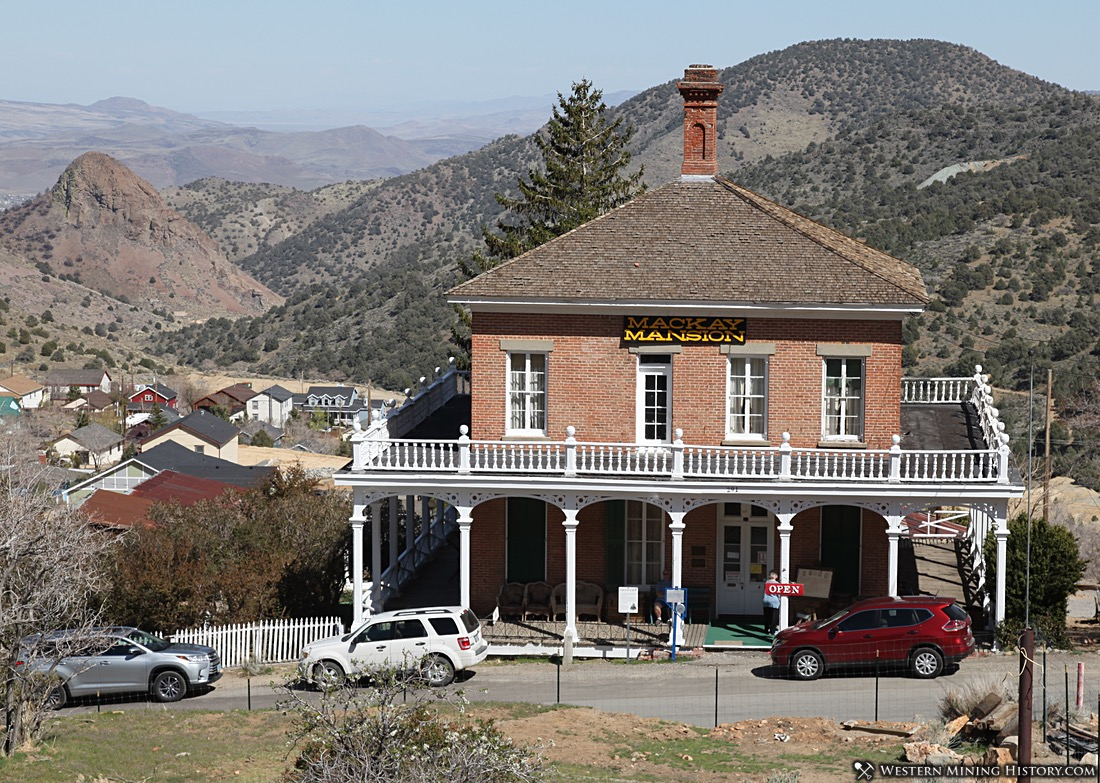 The Mackay Mansion in 2018
