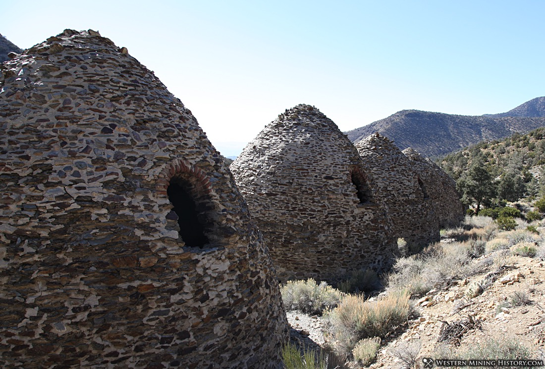 Backside of the Wildrose Charcoal Kilns